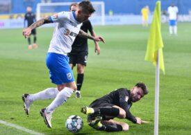 Liga 1: Universitatea Craiova a învins-o pe Gaz Metan Mediaș