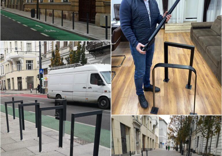 Cum vrea Ciprian Ciucu să scape trotuarele din Sectorul 6 de mașini: Eu, bolțari dintr-aceia scumpi și urâți, nu o să mai pun!