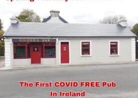 """În Irlanda s-a deschis primul bar """"liber de COVID"""". Clienții sunt testați la intrare, dar pot bea cât așteaptă"""