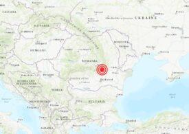 Cutremur în Vrancea: E al patrulea în decembrie