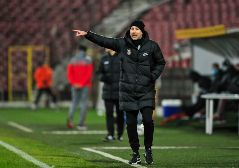 Ce spune Edi Iordănescu despre șansele lui CFR Cluj la câștigarea titlului