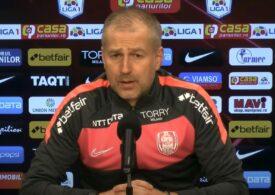Edi Iordănescu explică jocul slab al lui CFR Cluj în derbiul cu FCSB