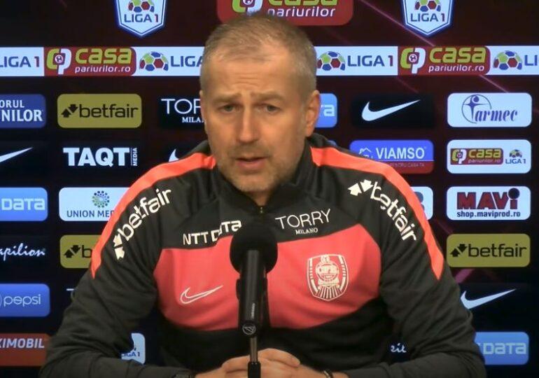 Edi Iordănescu a prefațat meciul cu Universitatea Craiova