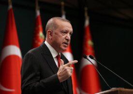 Erdogan condamnă Franţa pentru expresia rasistă a lui Sebastian Colțescu
