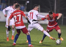 FCSB s-a încurcat de Sepsi, în ultima etapă a turului Ligii 1