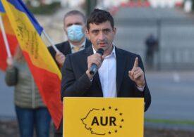 George Simion spune că AUR nu va intra în nicio coaliţie de guvernare