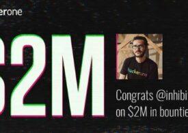 Un român este primul hacker care a câștigat 2 milioane de dolari din vânătoarea de recompense
