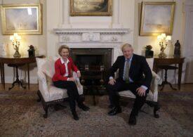 Ultima șansă pentru o despărțire amiabilă a Marii Britanii de UE, astăzi, la Bruxelles, unde Boris Johnson se vede cu Ursula von der Leyen