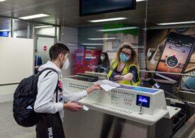 """Primul zbor """"fără Covid"""" între SUA și Europa! Pasagerii au fost testați la îmbarcare și la aterizare"""
