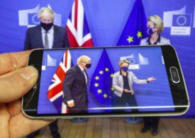 Mister Brexit, cu un acord comercial în tweed și cu joben
