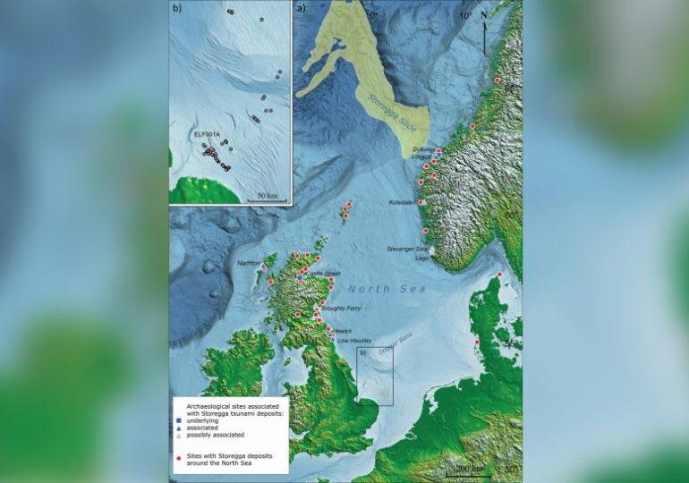 O insulă pierdută sub Marea Nordului a supraviețuit unui tsunami de proporții apocaliptice. Totul s-a întâmplat în urmă cu 8.000 de ani