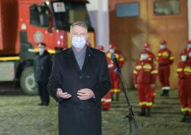 Iohannis: Este un lucru extraordinar că avem în România mii şi mii de voluntari