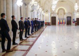 Guvernul Cîțu a depus jurământul. Iohannis: Vom face ce am promis. La treabă!