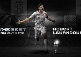 Robert Lewandowski a fost desemnat cel mai bun jucător al anului 2020 de către FIFA