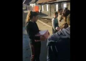 Mediaș: Mai multe persoane au primit dulciuri și rechizite sub formă de mită electorală (Video)