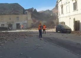 """Cutremur cu magnitudinea 6,4 în Croaţia - clădiri prăbușite în centrul țării și victime <span style=""""color:#ff0000;font-size:100%;"""">UPDATE</span>"""