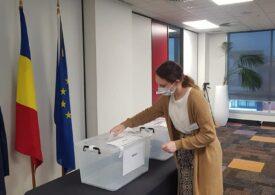 Primul român care a votat la alegerile parlamentare