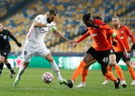 Surpriză în Liga Campionilor: Real Madrid pierde în Ucraina și tremură pentru calificare