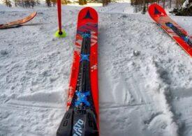 Sinaia: Măsuri antiCOVID luate de urgenţă pe pârtiile de ski, supra-aglomerate