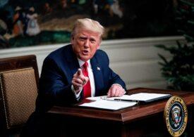 Donald Trump și-a schimbat subit programul și a revenit la Washington