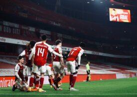 Arsenal şi Manchester United, calificate în runda a 4-a a Cupei Angliei