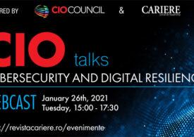 Descoperă cele mai noi tendințe și tehnologii în securitate cibernetică și reziliență digitală la CIO TALKS