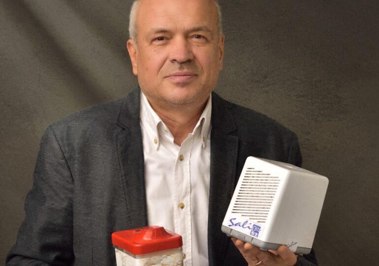 Un român vinde purificatoare de aer saline de peste un milion de euro, mai ales la export. Crede că în vremuri neobișnuite se ascund și oportunități, nu doar probleme