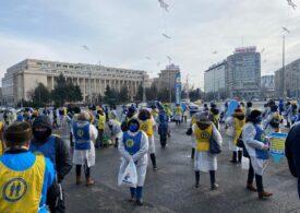 Proteste în faţa Guvernului şi a prefecturilor din ţară: Ce nemulțumiri au sindicaliștii care au ieșit în stradă (Galerie foto)