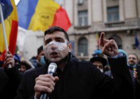 Protest organizat de AUR la Ministerul Sănătăţii în urma incendiului de la Institutul Matei Balş