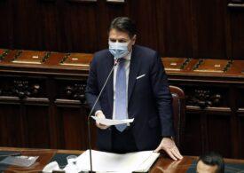 Premierul italian Giuseppe Conte își va da marți demisia