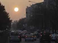 Poluarea în Capitală a crescut la tripul valorii limită în noaptea de vineri spre sâmbătă