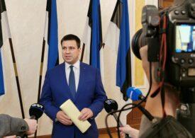 Premierul Estoniei a demisionat, după ce partidul său a fost acuzat de corupție