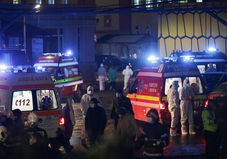Filmul intervenției de la  Matei Balș: Pompierii au ajuns în 8 minute, focul ardea violent pe o suprafață de 120 mp