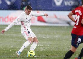 Încă un pas greșit făcut de Real Madrid în La Liga