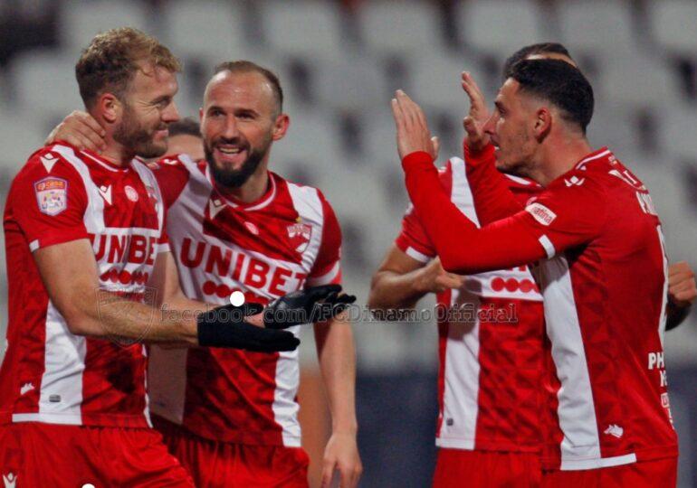 Liga 1: Dinamo învinge Gaz Metan