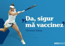 Simona Halep anunță că se va vaccina împotriva noului coronavirus