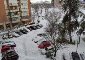 Vreme extremă în Spania: Cod roșu de frig polar. Avertisment de la MAE