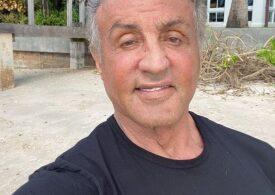 O reţea de falsificatori din Bulgaria se lăuda cât e de bună cu un paşaport cu fotografia lui Sylvester Stallone
