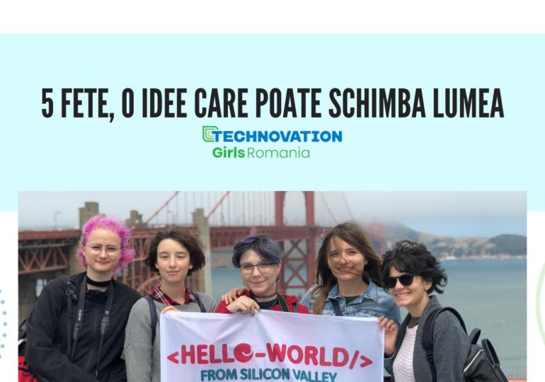 Au început înscrierile în cea mai mare competiție de tehnologie dedicată fetelor, Technovation Girls 2021