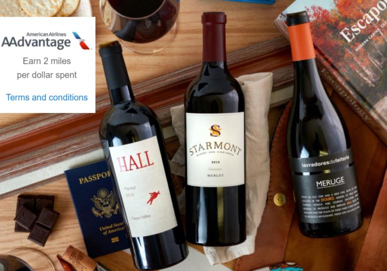 O companie aeriană are atât de mult vin în depozite, încât a început să facă livrări la domiciliu
