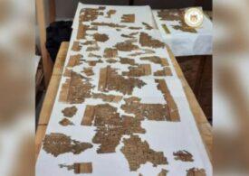 """Pergamentul """"Cartea morților"""", descoperit într-un mormânt din Egipt"""