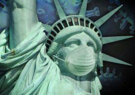 Statele Unite au depăşit oficial pragul de 20 de milioane de infecţii cu SARS-CoV-2 confirmate prin teste