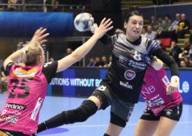 CSM București a suferit o nouă înfrângere în Liga Campionilor