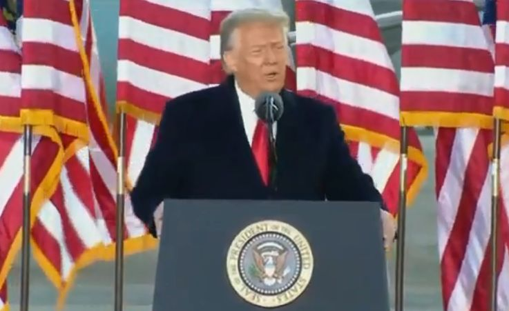Ultimul discurs de preşedinte al lui Trump: Oamenii habar n-au cât de mult a muncit această familie pentru ei (Video)