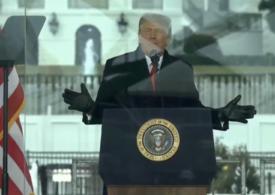 Trump tot nu recunoaște victoria lui Biden și vine cu o teorie halucinantă: Eu devin preşedinte şi voi veţi fi cei mai fericiţi oameni (Video)