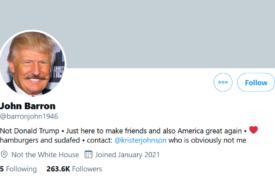 Un profil fals al lui Trump face senzație pe Twitter, după ce toate conturile președintelui SUA au fost blocate