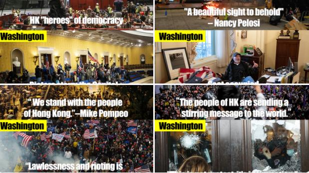 Asalt asupra Capitoliului: Internauţii şi unele mass-media din China ironizează haosul de la Washington
