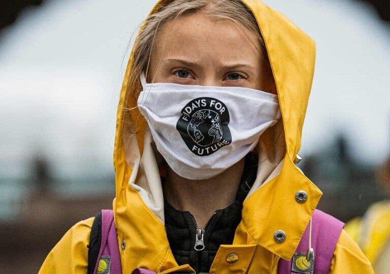 Macron a deschis Summit-ul One Planet. Greta Thunberg: Bla bla bla ... blocaţi în decenii de şi mai multă distrugere