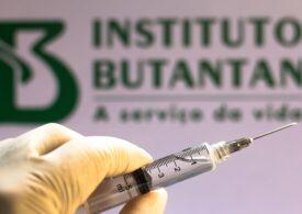 Vaccinul Sinovac dezvoltat de chinezi are o eficienţă mult mai scăzută decât arătau datele iniţiale din Brazilia