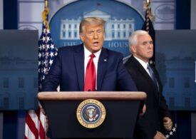 Vicepreședintele în exercițiu Mike Pence, prins între Donald Trump și Constituție